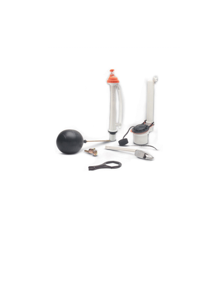 Juego herraje completo de accesorios para w c for Manija para sanitario